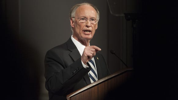 Gov. Robert Bentley gives his State of the State Address