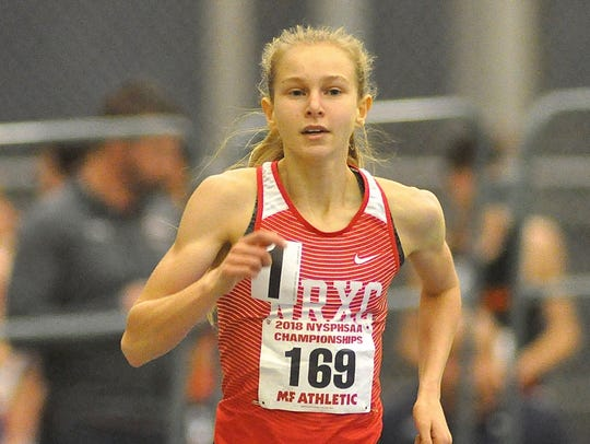 North Rockland's Katelyn Tuohy breaks her own national