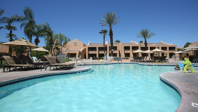 The Westin Mission Hills Resort & Spa in Rancho Mirage offers day passes for use of its pools and cabanas.