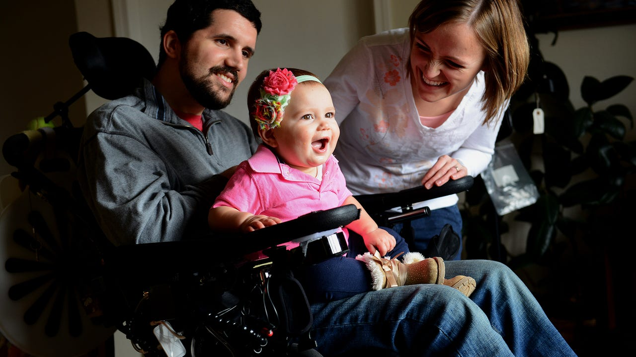 Despite a tragic accident that left one of them in a wheelchair, Lane and Emily Bargeron are hopeful for the future. One they hope will include a new home that offers more freedom for Lane.