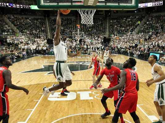 NCAA Basketball: Stony Brook at Michigan State