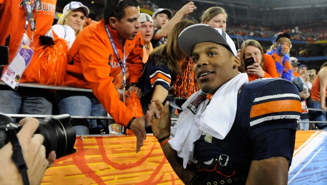 Cam Newton and Auburn did win the 2010 national championship by beating Oregon in the BCS Championship Game on Jan. 10, 2011.