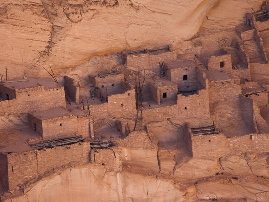 The Betatakin ruins are seen at the Navajo National