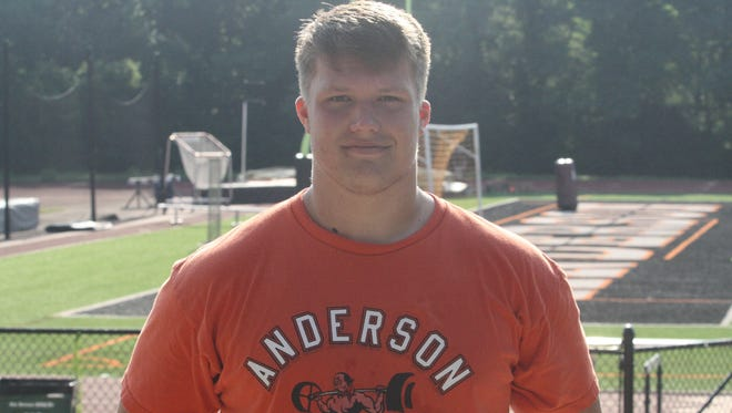 Zeke Correll, Anderson High School class of 2019, has emerged as a top offensive lineman recruit in the area with offers from Ohio State, Wisconsin and Kentucky, to name a few.