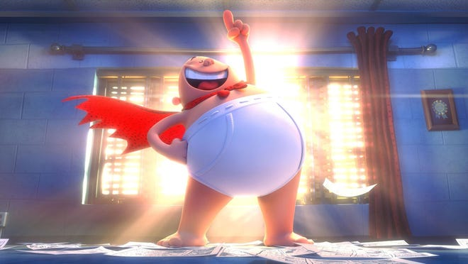 """Captain Underpants: The First Epic Movie"" opens Friday."