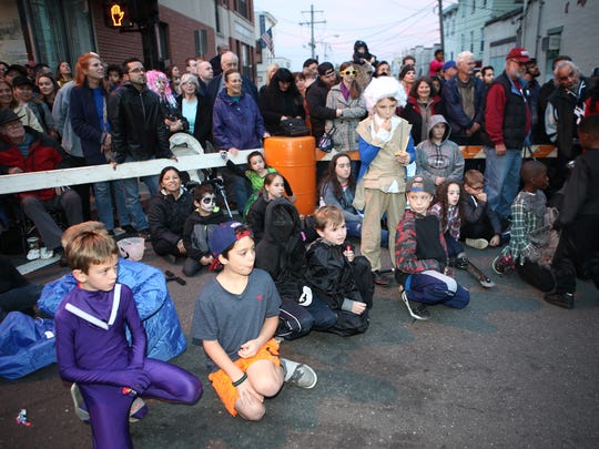 Nyack holds their 29th annual Halloween parade on Saturday, October 29, 2016.