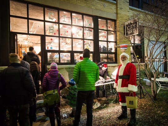 City Bird on Canfield will be greeting holiday shoppers Saturday night.