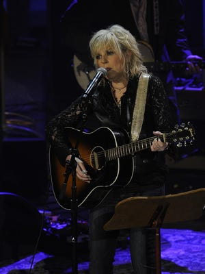 Lucinda Williams received the Lifetime Achievement Award for song writing at the Americana Music Association Honors & Awards show at the Ryman.