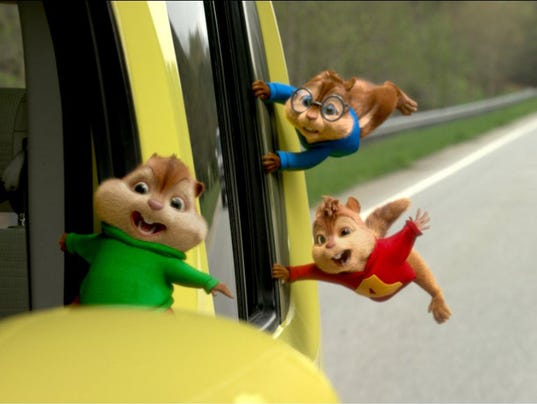 Movie review: 'Alvin and the Chipmunks: The Road Chip'