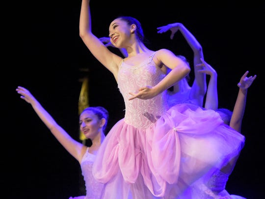 Abbey Miller, 15, performs with Greater York Dance