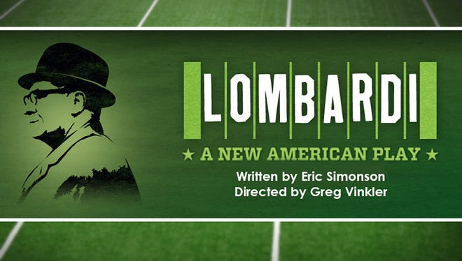 "The play ""Lombardi"" will be performed Feb. 22-March 10, 2019, the Weidner Center on the UW-Green Bay campus."