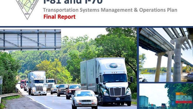 The Hagerstown/Eastern Panhandle Metropolitan Planning Organization has completed its Interstate 81 Interstate 70 Transportation Systems Management and Operations Plan. PROVIDED GRAPHIC