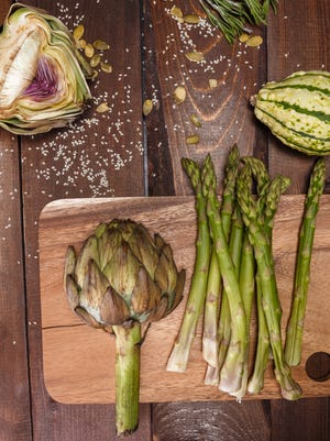 Artichoke and asparagus: two powerhouse foods on the way to a more nutritious diet.