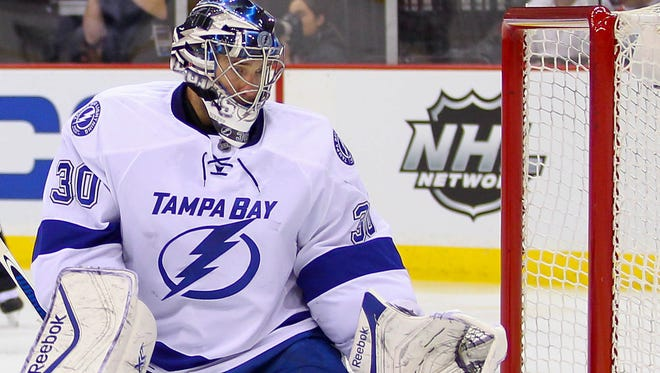 Tampa Bay Lightning goalie Ben Bishop has been the best U.S. goalie this season - at least statistically.