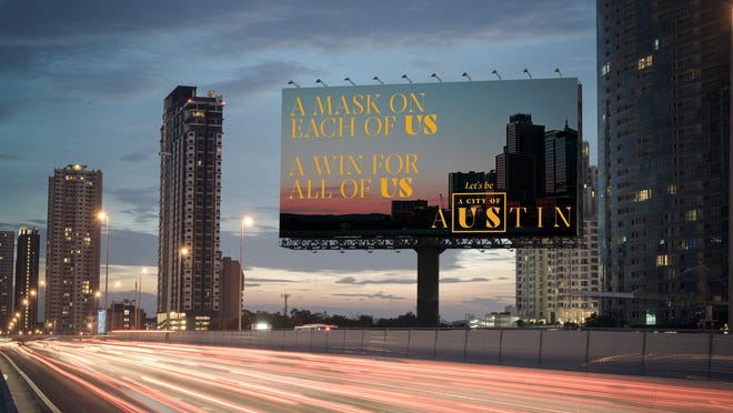 "The Austin Chamber of Commerce has debuted a new campaign called ""Austin, Let's Be a City of Us"" to raise awareness ways to stop the spread of COVID-19 as businesses reopen."