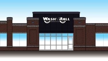 An elevation of the Wash N' Roll Car Wash planned in Murfreesboro. The 3,000 square foot Madison location will have a similar look..
