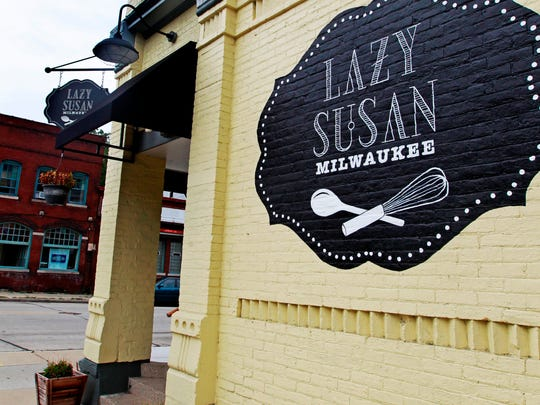 Lazy Susan is at 2378 S. Howell Ave. in the Bay View neighborhood, at the corner of E. Smith St.
