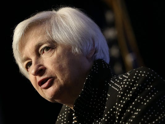 Fed Chair Janet Yellen Addresses Economic Club Of Washington D.C.