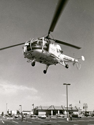 Survival Flight, operated by Phoenix Baptist Hospital,