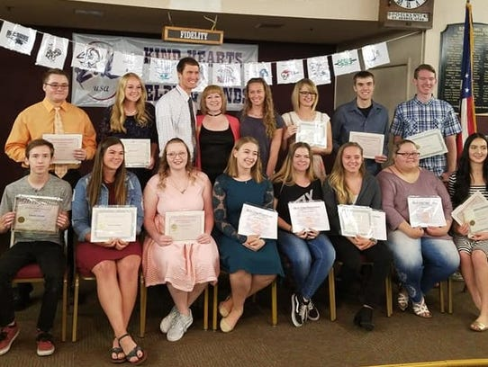 The Dixie Elks held their annual Youth Awards Night