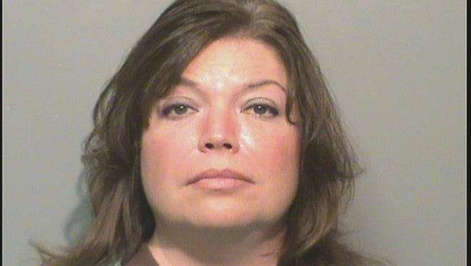 Kimberly Ann Vangundy, 45, was charged with two counts of serious injury by vehicle.