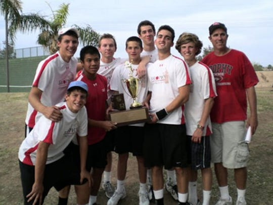 Bill Woods created a tennis dynasty at Phoenix Brophy Prep.