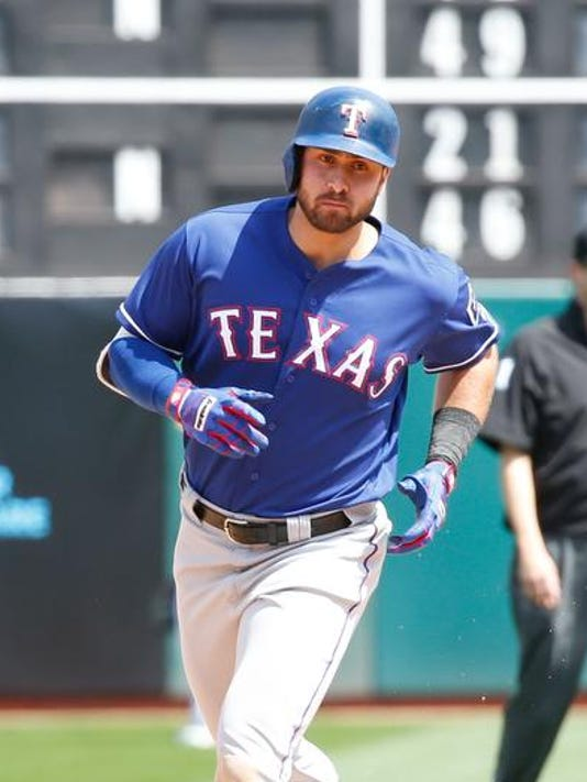 MLB: Texas Rangers at Oakland Athletics