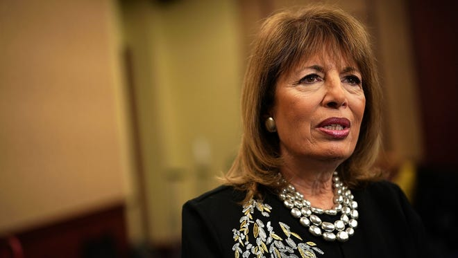 Rep. Jackie Speier, a California Democrat and member of the Armed Services Committee, is dissatisfied by the Marines' work on sexual harassment.