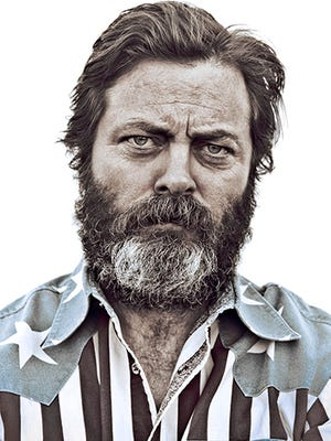 Comedian Nick Offerman will bring his stand-up tour to Elliott Hall of Music Oct. 24.