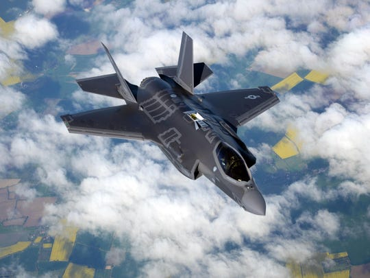 A US Air Force F-35 Lightning II assigned to Hill Air