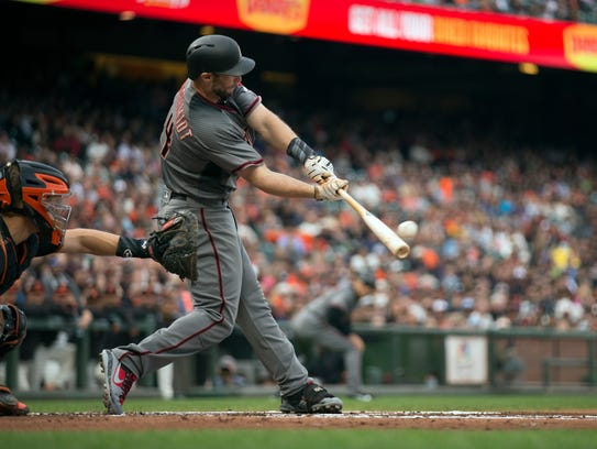 Paul Goldschmidt has played in 90 percent of his games