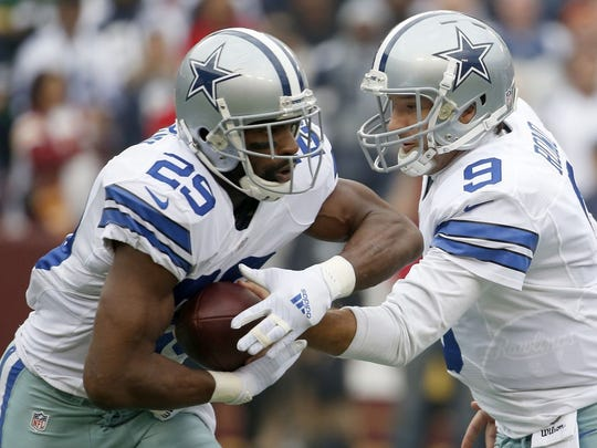 Dallas Cowboys running back DeMarco Murray's big season (1,845 yards, 4.7-yard average per carry) and quarterback Tony Romo's great numbers (34 touchdowns, nine interceptions) aren't coincidental.