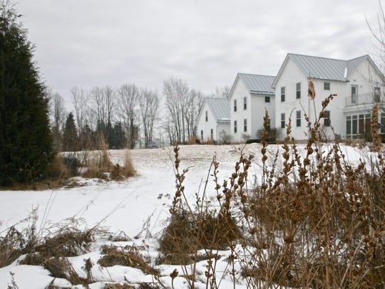 Jim Mahn's modern farmhouse, which reinterprets 100-year-old