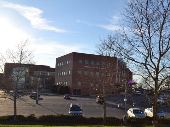 Augusta Health Hospital, taken on the hospital's campus