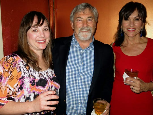 Desiree Fertitta, Paul and Tina Broussard at wedding