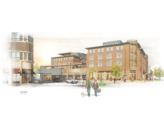 Rendering of The Elizabeth Hotel, 354 Walnut St.