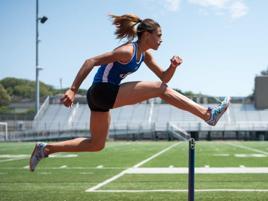 Recently named ESPN's Gatorade High School Athlete of the Year, Sydney McLaughlin, 16, of Dunellen, will compete as a track and field athlete in the 2016 Rio Olympics.
