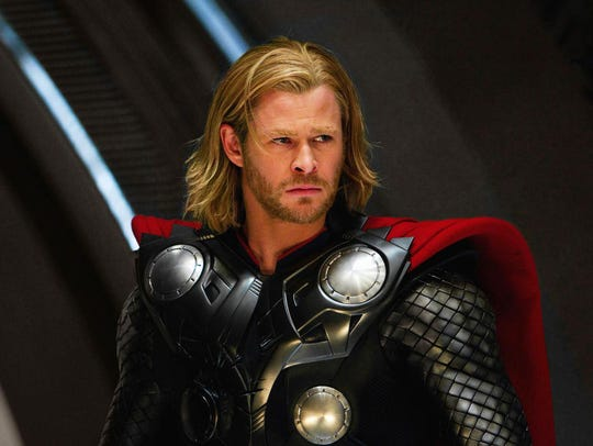 Chris Hemsworth from the 2011 Kenneth Branagh film