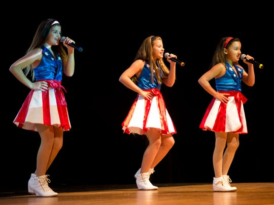 The USA Freedom kids performed during an event for the Collier County School District administrators on Tuesday August 3, 2016.