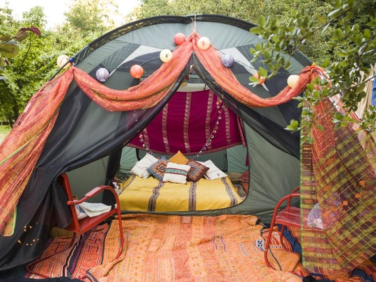 Resorts offer glamping opportunities or you can add