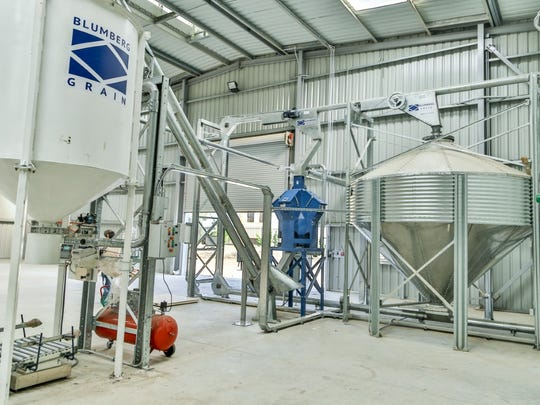 Blumberg Grain is installing modern grain storage facilities in Egypt in a program aimed at reducing spoilage and theft. Bill Stewart, a former member of the Dallastown Borough Council, is heading the project.