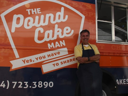 The Pound Cake Man food truck.