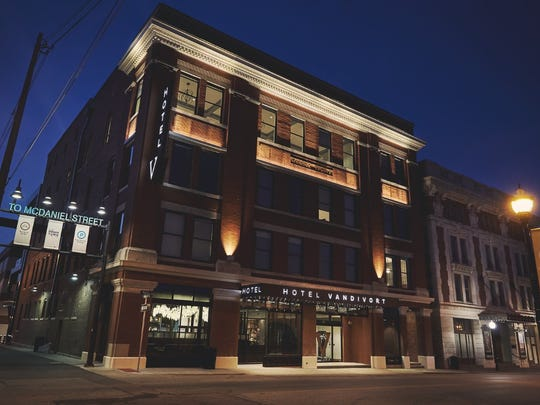 At an event Tuesday Oct. 25, 2016 in California, downtown Springfield's Hotel Vandivort was named 2016 Boutique Hotel of the Year by an industry group, the Boutique & Lifestyle Lodging Association.