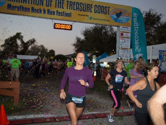 More than 1,500 runners are expected at this year's Treasure Coast Marathon at Memorial Park in downtown Stuart