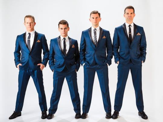 "The Midtown Men, featuring original cast members of ""The Jersey Boys,"" will perform March 16 at the Visalia Fox."