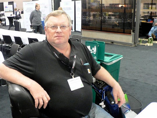 Lonnie Holthaus, Lancaster,  began full-time dairying after leaving dairy equipment sales a dozen years ago. His 300-cow herd has a RHA of 33,500 milk.