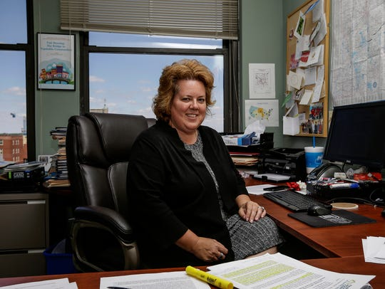 Executive Director Amy Nelson in her office at Fair