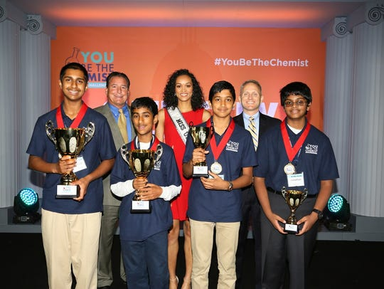 National You Be The Chemist Challenge® Champion Ananthan