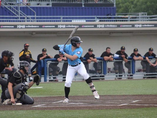 Lakeshore Chinooks shortstop Owen Miller hit his second cycle in three days during last nights game against the Rockford Rivets