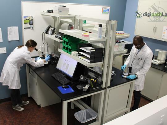 Digipath Labs is a marijuana testing facility in Las Vegas.